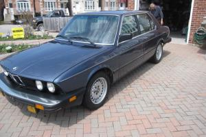 1986 BMW 535i Base Sedan 4-Door 3.5L   MINT!!! COLLECTOR CAR!!