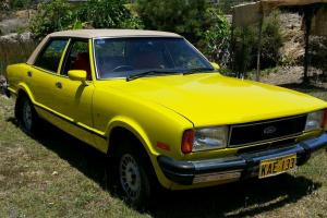Ford Cortina Ghia 1978 4D Sedan 3 SP Automatic 4 1L Carb in Grafton, NSW
