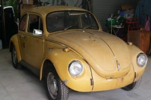 Volkswagen Beetle 1972 Super BUG 2 Door 4 SP Manual