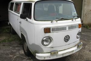 Volkswagen VW Kombi Manual Late 70 039 S Model White 56021 KM Katoomba Pickup