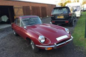 Jaguar E-Type 2+2 PETROL MANUAL 1970/H