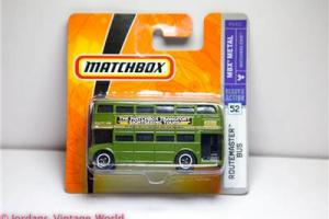 Matchbox #52 2007 DOUBLE DECKER ROUTEMASTER LONDON BUS - BRAND NEW P6421