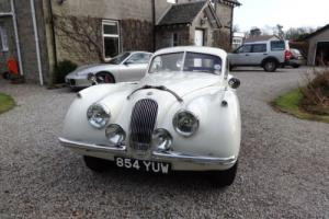 1952 Jaguar XK 120 Fixed Head Coupe (FHC) Manual White Photo