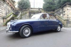 1968 Jaguar MK II 240 Saloon Automatic Blue Photo