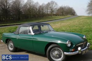 1963 A MGB ROADSTER In British Racing green
