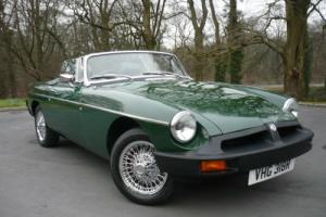1976 'R' MGB Roadster 1.8 Manual 4 speed Petrol