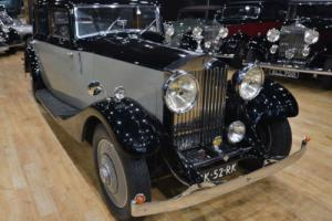 1934 Rolls Royce 20/25 Continental Sports Saloon by Mann-Egerton