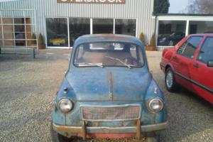 1955 Fiat 600 'Contro vento' suicide doors very early car