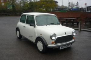 1988 Classic Austin Rover Mini Advantage in White with only 201 miles from new