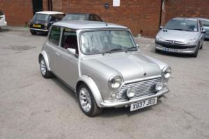2000 Classic Rover Mini 40 Limited Edition in Platinum Silver