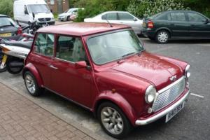 1997 Classic Rover Mini Sportspack in Nightfire Red Photo