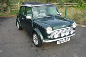 2000 Classic Rover Mini Cooper Sport with Electric Sunroof British Racing Green