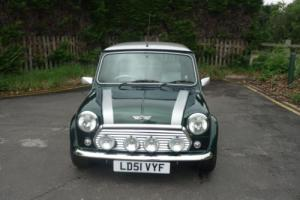 2001 Classic Rover Mini Cooper 500 Sport in British Racing Green only 230 miles