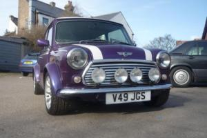1999 Classic Rover Mini Cooper Sportspack in Pearlescent Purple Photo
