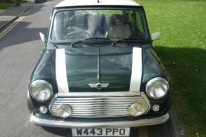 2000 Classic Rover Mini Cooper in British Racing Green