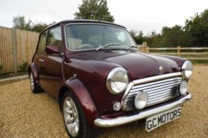 1999 Classic Rover Mini 40 LE in Burgundy Red Photo