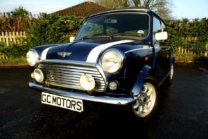 2001 Classic Rover Mini Cooper Classic in Tahiti Blue Photo