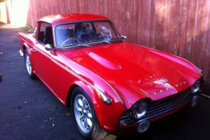 Triumph TR4A , IRS WITH SURREY TOP,