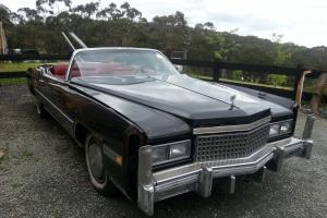 Cadillac Eldorado Convertible 1975 in Beaconsfield Upper, VIC
