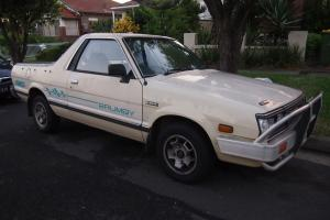 Subaru Brumby 4x4 1992 UTE 4 SP Manual 4x4 1 8L Carb in Greenacre, NSW