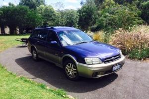 Subaru Outback Limited 2000 4D Wagon 4 SP Automatic 2 5L Multi Point F INJ in Wembley, WA
