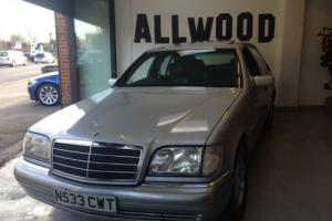 Mercedes-Benz S280 2.8 auto S280 ONLY 65000 MILES FULL MERCEDES SERVICE HISTORY