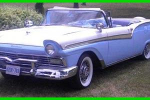 Ford : Fairlane 500 Frame Off Restoration