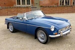 MGC ROADSTER 1968 MINERAL BLUE - COVERED ONLY 1200 MILES SINCE RESTORATION COMP Photo