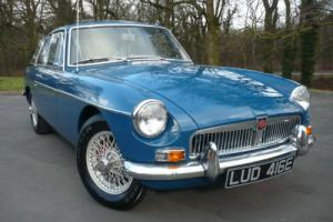 1967 'E' MGB GT Mk 1 (G/HD3) 1.8 Coupe Manual 4 Speed