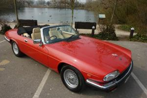 JAGUAR XJS V12 CONVERTIBLE 1991 FULL SERVICE HISTORY FROM NEW PRISTINE CONDITION Photo