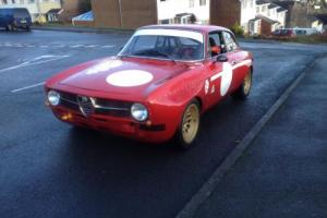 Alfa Romeo GT Junior GTAm Replica 1300cc. LHD race car