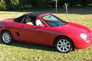 MGF Sports CAR Collectable Convertible Photo