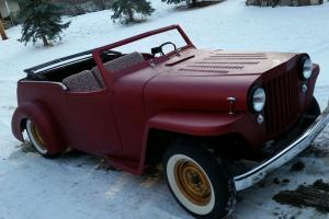 Willys : JEEPSTER OVERLAND