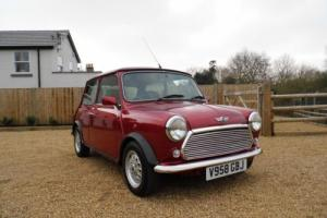 1999 Rover Mini Balmoral in Nightfire Red and just 39,000 miles