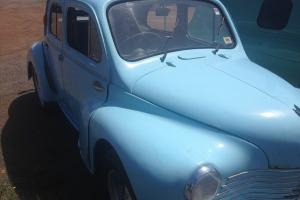 Renault 750 Sedan 1952 in Hamilton, VIC