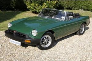 MG MGB Roadster PETROL MANUAL 1975/P