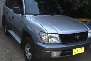 Toyota Landcruiser Prado GXL Kimberley 4x4 2001 4D Wagon 4 SP Manual in Wagga Wagga, NSW