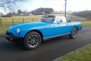 MGB ROADSTER CAR S REG 52,300 MILES