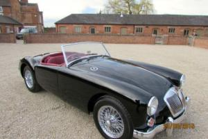 MGA ROADSTER 1958 - RESTORATION COMPLETED MARCH 2015 TO CONCOURSE STANDARDS