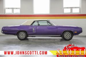 Dodge : Coronet Convertible FC7 Plum Crazy 383 HP 1-of-6!