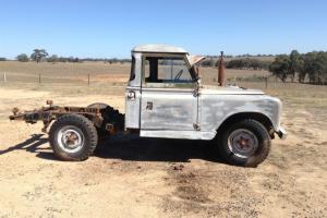 Land Rover Series 2 CAB Chassis in Heathcote, VIC