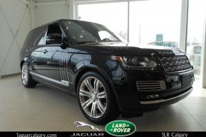 Land Rover : Range Rover 5.0L V8 Supercharged Autobiography Black Edition