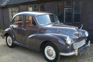 MORRIS MINOR 1000 - EARLY 1098CC CAR IN OUTSTANDING CONDITION !!