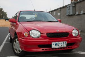 Toyota Corolla Conquest 1999 5D MAN 1 8L RWC AND REG TO OCT in Pascoe Vale, VIC