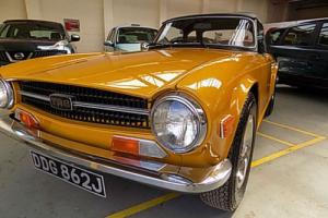 Triumph TR6 1971 150 bhp Injection UK car PX considered