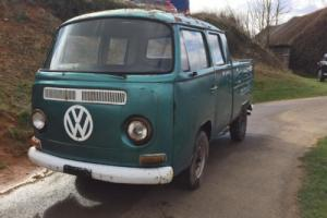 Volkswagen Bay Window Crewcab Pickup 1972