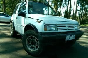 Suzuki Vitara JX 4x4 1990 2D Soft TOP Manual 1 6L Carb Hard Canopy in Monbulk, VIC