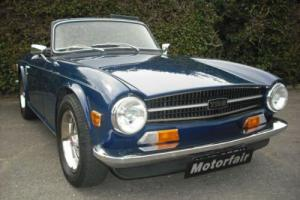 1974 Triumph TR6 2.5 Overdrive, Sapphire Blue, Leather, STUNNING EXAMPLE Photo