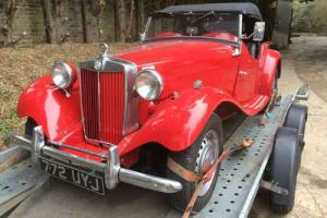 MG TD MARK II RED