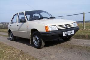 1986 (C) Peugeot 205 1.1 GL,absolutely stunning car,one owner,genuine 46000 mls